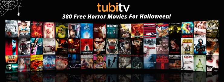 Tubi TV Halloween - Tubi TV Goes BIG This Halloween; Nearly 400 Horror Movies Streaming for FREE!