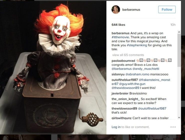 pennywise jack  - Filming Wraps on New It Adaptation; Meet the Pennywise Jack-in-the-Box!