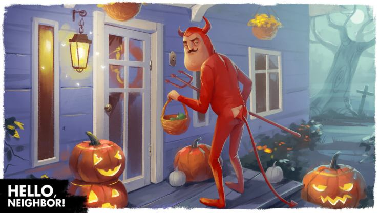 In Hello Neighbor There S Something Sinister Going On In