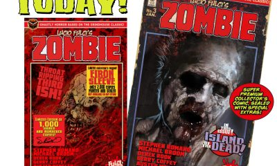 ISSUE 3 AD 5 min - Lucio Fulci's ZOMBIE #3 on sale TODAY at 7PM!