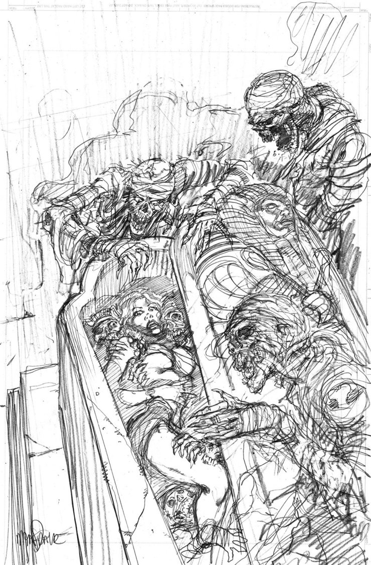 Titan\'s Nightmare Before Christmas: Day 4 - Tom Mandrake\'s Process ...