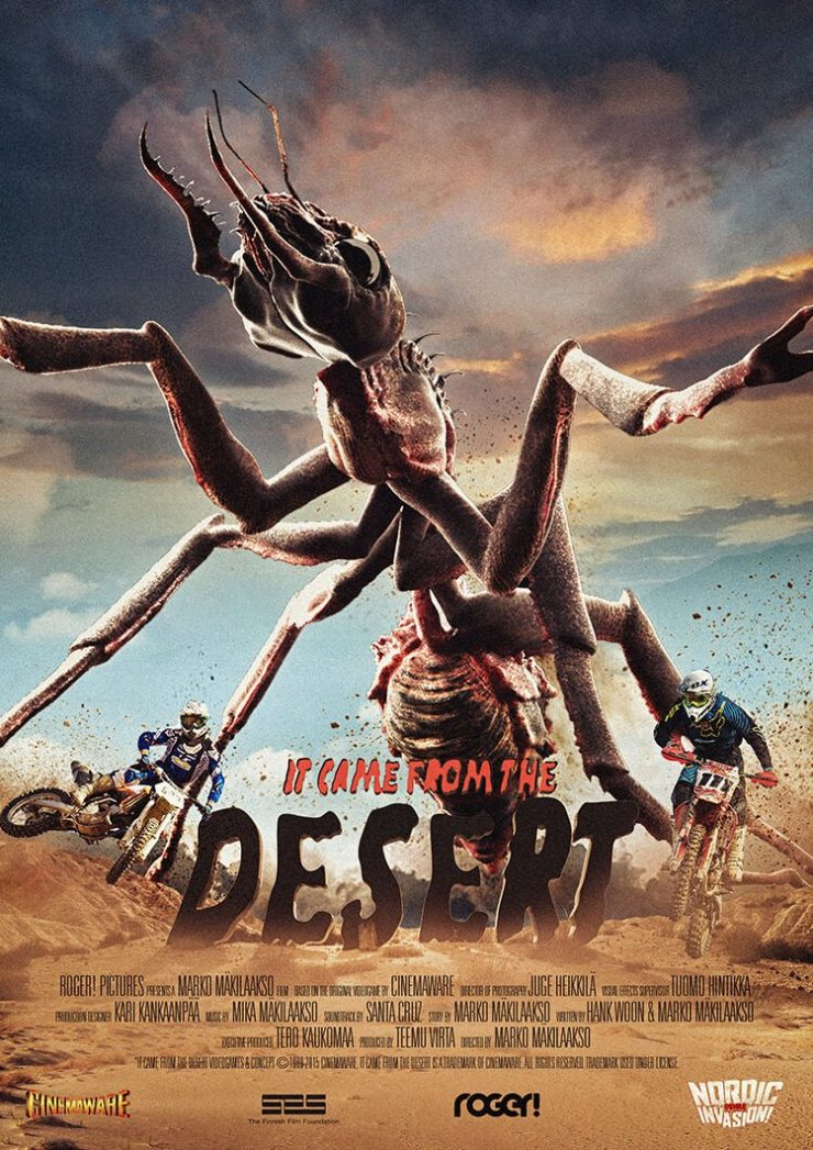 it came from the desert poster 1 - New Teaser Released for Monster Game Adaptation It Came from the Desert
