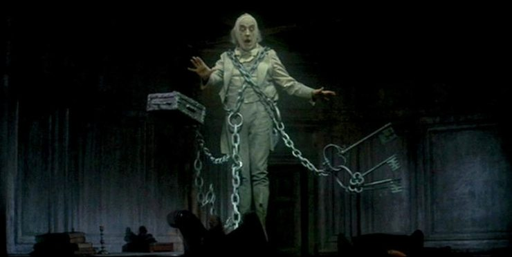 A Christmas Carol - The Most Frightening and Memorable Appearances of Jacob Marley - Dread Central