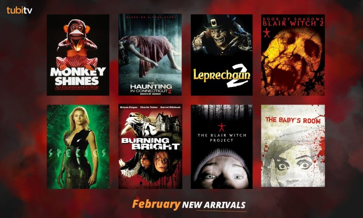 Tubi February - Tubi TV Terrors - This February Fall in Love With Leprechaun