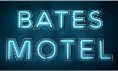 The Bates Motel neon sign, as seen in the show
