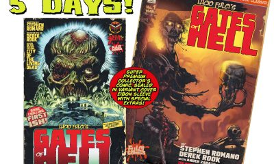 GATES COUNTDOWN 5 - Lucio Fulci's CITY OF THE LIVING DEAD Comic Drops in 5 DAYS!