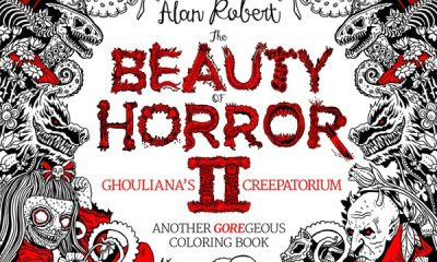beautyofhorror ii s - Trailer Unveiled for Alan Robert's The Beauty of Horror II: Ghouliana's Creepatorium