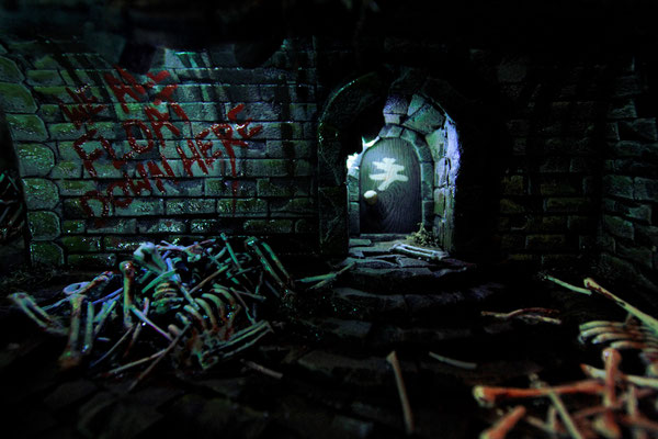 stephenkingdiorama10 - Derry, the Town From Stephen King's It, Has Been Recreated in a Stunning Model