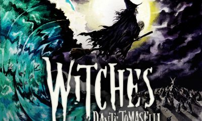 WITCHES cd cover dante tomaselli - Dante Tomaselli's Album Witches is Out Now
