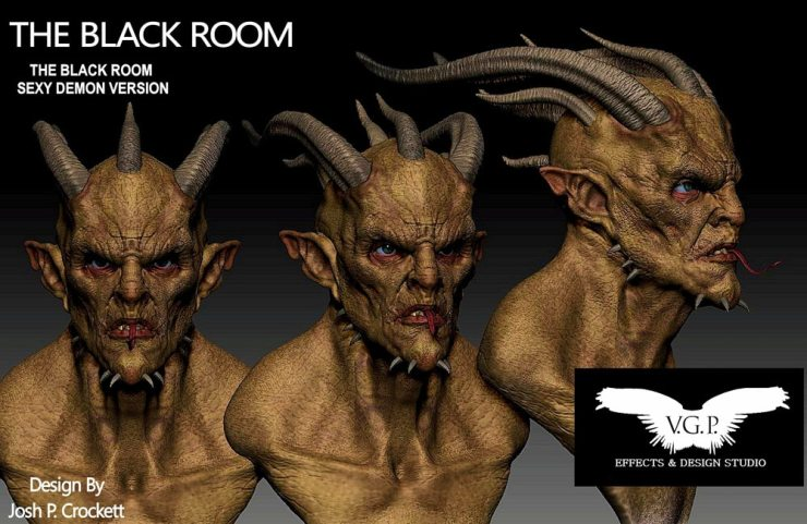 black room - Exclusive Guest Blog: Vincent Guastini - V.G.P.  Effects & Design Studio New Projects - Aftermath, Dimension 404, and Vincent's Directing Debut of The Dark Tapes