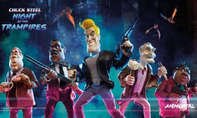 Chuck Steel Night of the Trampires6 1 - Animated Horror Makes a Comeback with Feature Length Stop-Motion Film Chuck Steel: Night of the Trampires