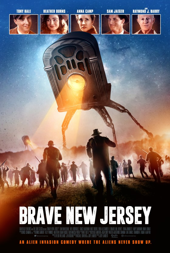 BraveNewJersey KeyArt Theatrical - Brave New Jersey Takes Us to Night of the War of the Worlds Radio Broadcast