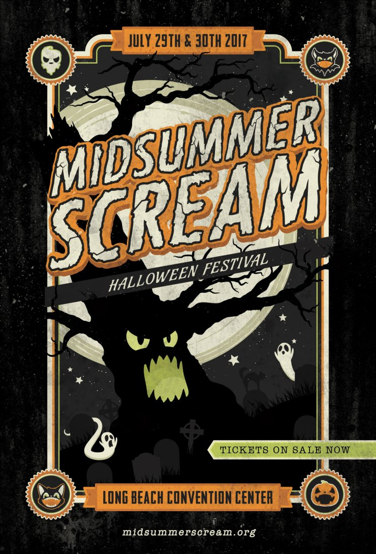Midsummer Scream 2017 Postcard - Midsummer Scream: Attractions Revealed! Prepare to Be Wowed!