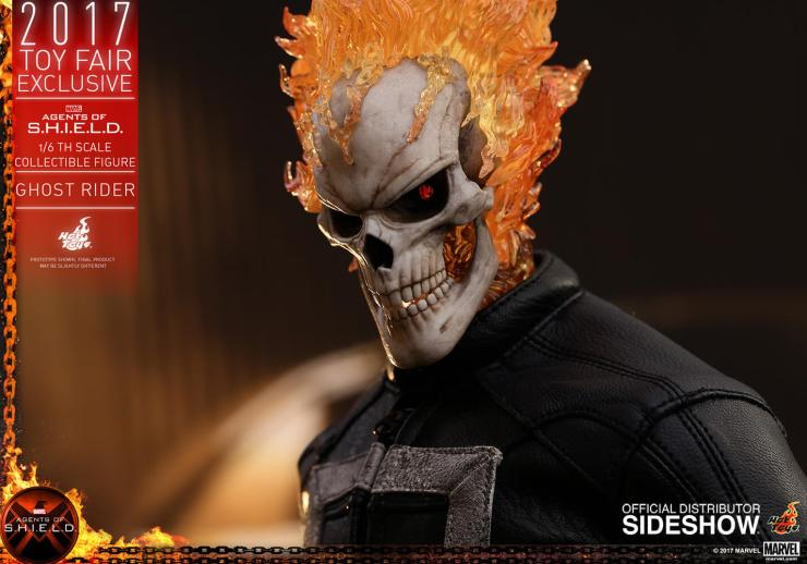 Ghost Rider agents of s.h.i.e.l.d. hot toys figure 1 1 - Hot Toys Fires Up Its Ghost Rider Action Figure