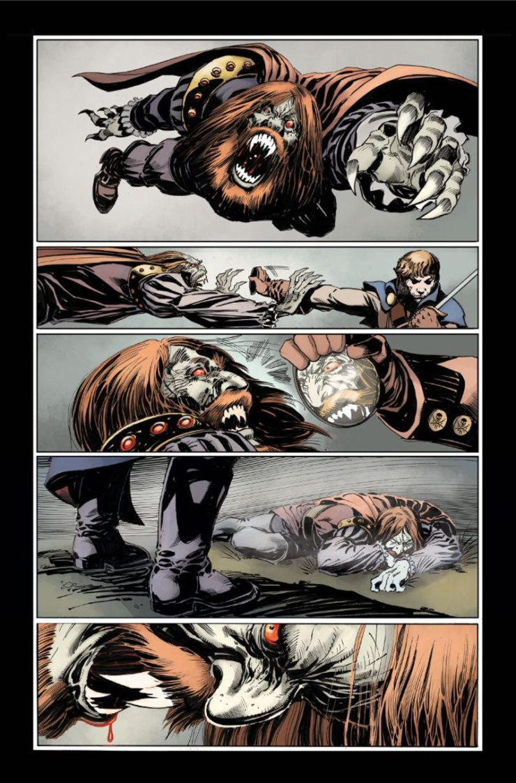 KRONOS1pg3 PREVIEW - Exclusive Reveal of Color Pages from Hammer Horror's Captain Kronos: Vampire Hunter