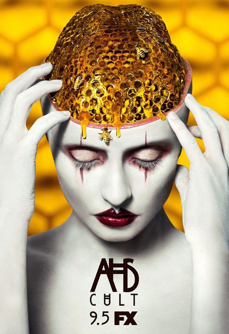 ahs cult beehive brain poster - Latest American Horror Story: Cult Teaser Gets Grabby