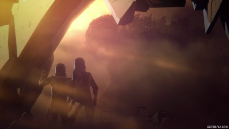 godzilla planet14 - Godzilla: Planet of the Monsters Gets a Music Video