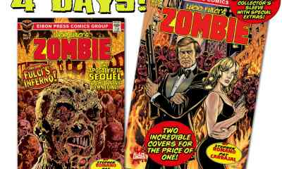 COUNTDOWN 4 min - The Official SEQUEL to Lucio Fulci's ZOMBIE is coming TODAY!