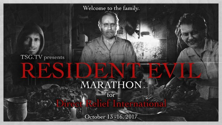 RE Poster Welcome to the Family - TheSpeedGamers Team With Direct Relief For Charitable Resident Evil Livestream
