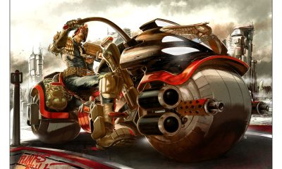 dreddartshow Jake Lynch Judge Dredd - There Will Be a 40th Anniversary Art Show to Celebrate Judge Dredd and 2000 AD