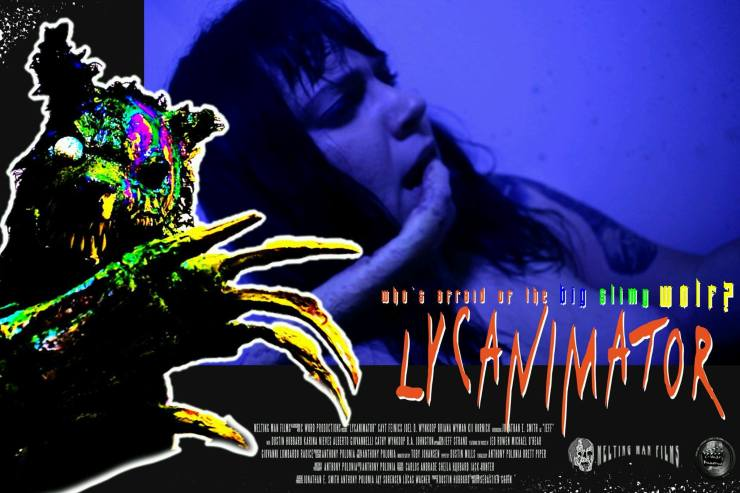 lycanimator theatercard 1 - Exclusive Lobby Cards From the Upcoming Creature Feature Lycanimator