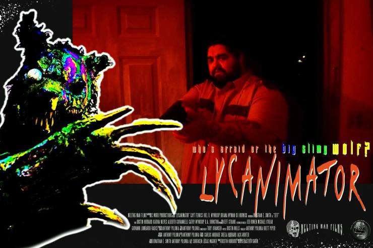 lycanimator theatercard 3 - Exclusive Lobby Cards From the Upcoming Creature Feature Lycanimator