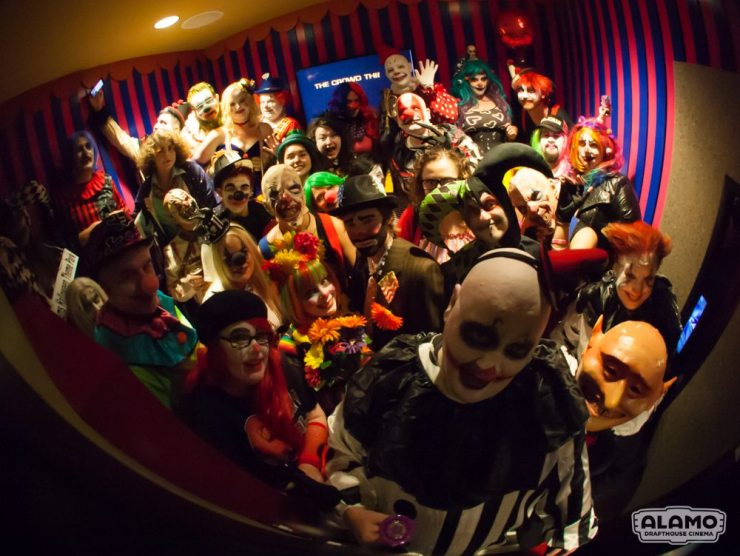 All Clwon screening IT Alamo Cedars 78 - Event Report: Clowns Invade the Alamo Drafthouse for IT