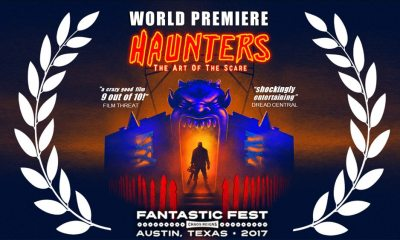 HAUNTERS FF Premiere poster02 - Fantastic Fest 2017: Trailer Premiere for Haunters: The Art of the Scare
