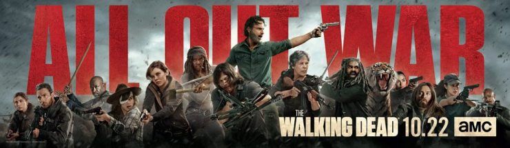 TWD season8 keyart - More Videos for The Walking Dead Tease the War to Come and Introduce the New Regulars