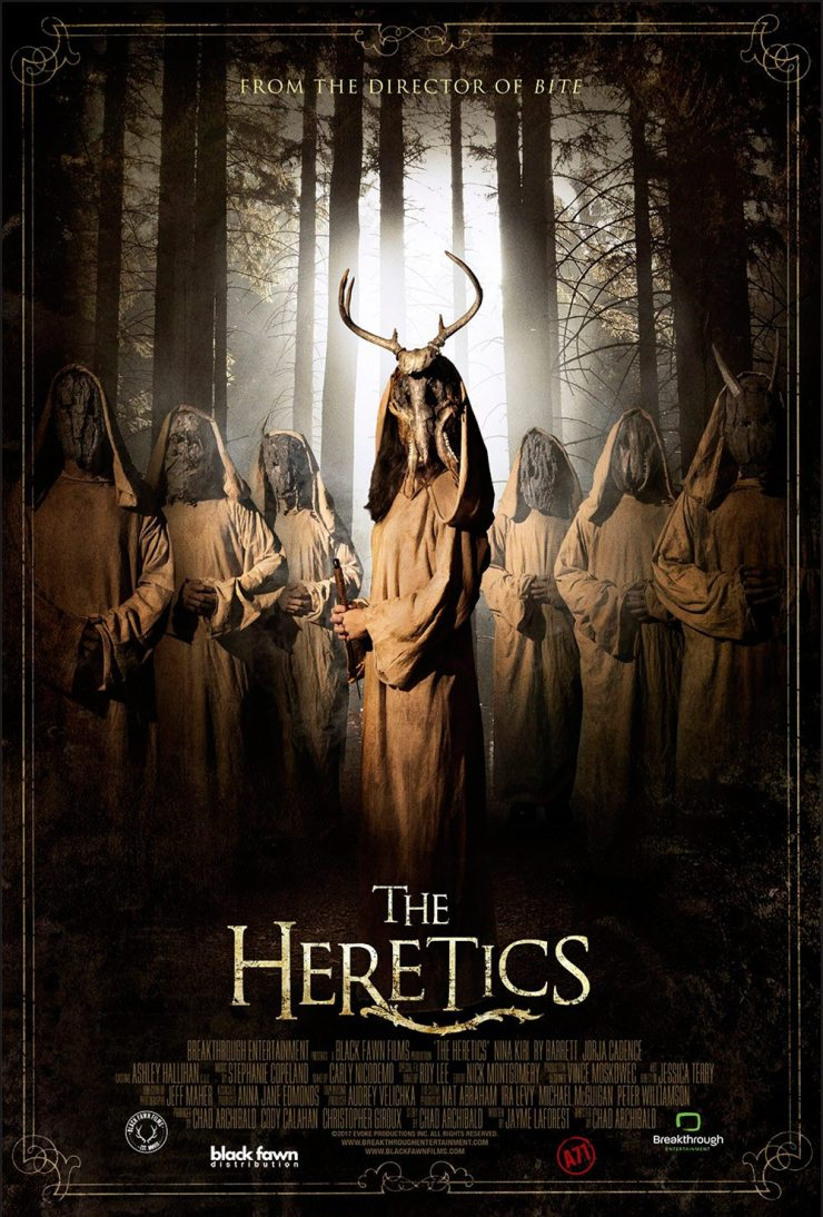 The Heretics Theatrical Poster - The Heretics Heading Out on Weeklong Theatrical Release in Canada