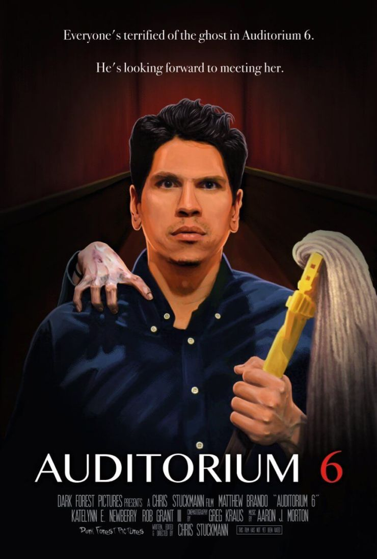 auditorium 6 1 - Big Time YouTuber Chris Stuckmann Directing Horror Comedy Auditorium 6