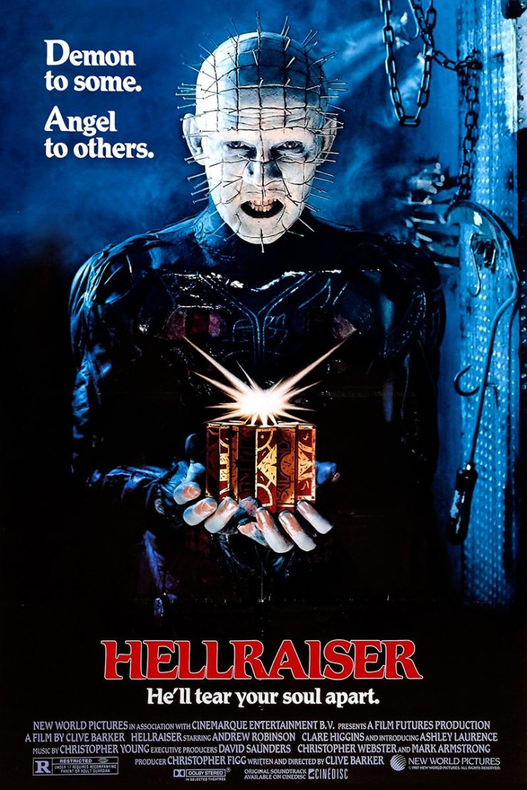 hellraiserposter - Hellraiser - Steve Newton's Retro Reviews