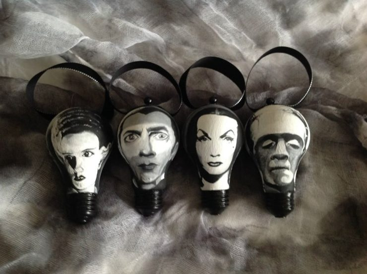 11 2 - Check Out These Halloween Horror Ornaments by The Gnarled Branch