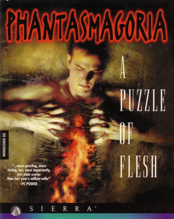 86649 phantasmagoria a puzzle of flesh windows front cover - Someone Cut All the FMVs From Phantasmagoria A Puzzle of Flesh Into One Cohesive Movie