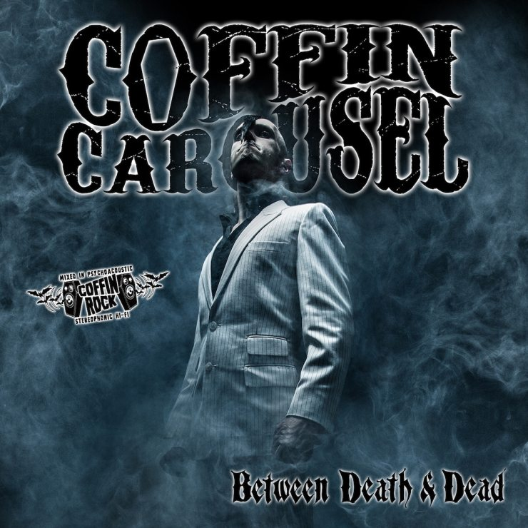 """Between Death and Dead Coffin Carousel cover art 1600 - Exclusive: Coffin Carousel Rock Your Halloween in """"Skull Candy"""""""