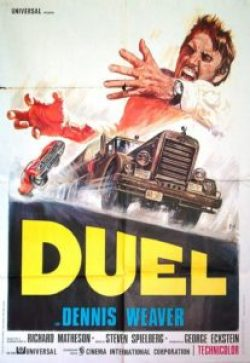 DuelRetroPoster 207x300 - There Be Drops of Blood in Oscar Gold: Three Winners Who Started in Horror