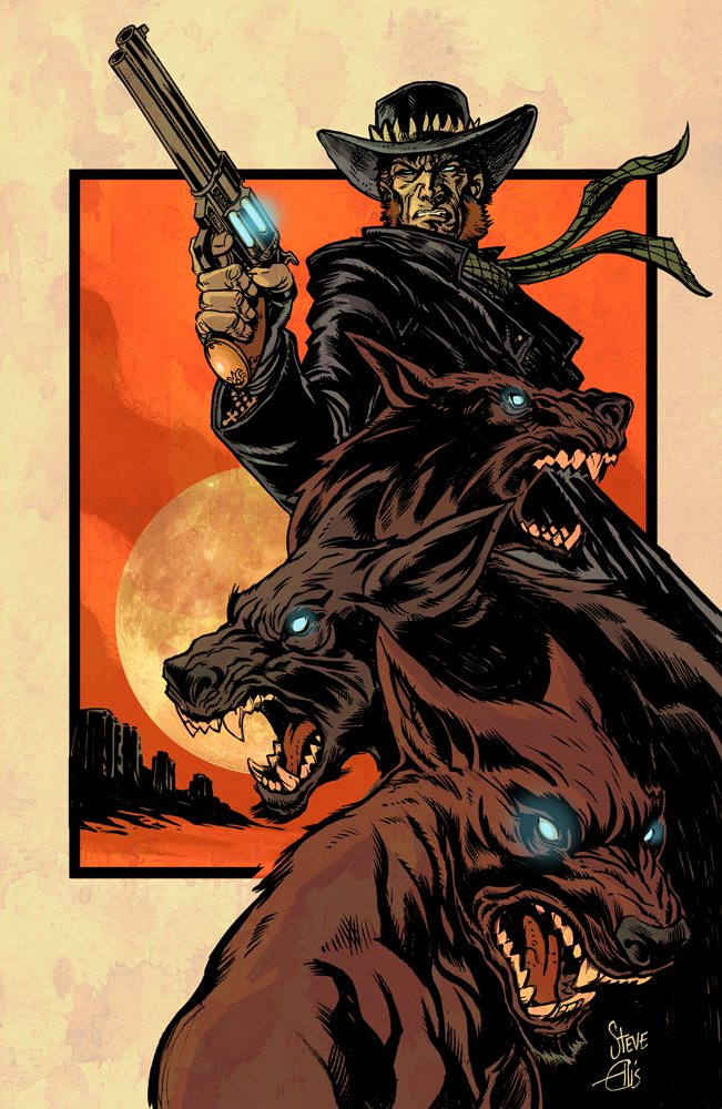 HM.Cover .Booklet.1000 - Exclusive: Preview Pages From the Werewolf Western Comic High Moon