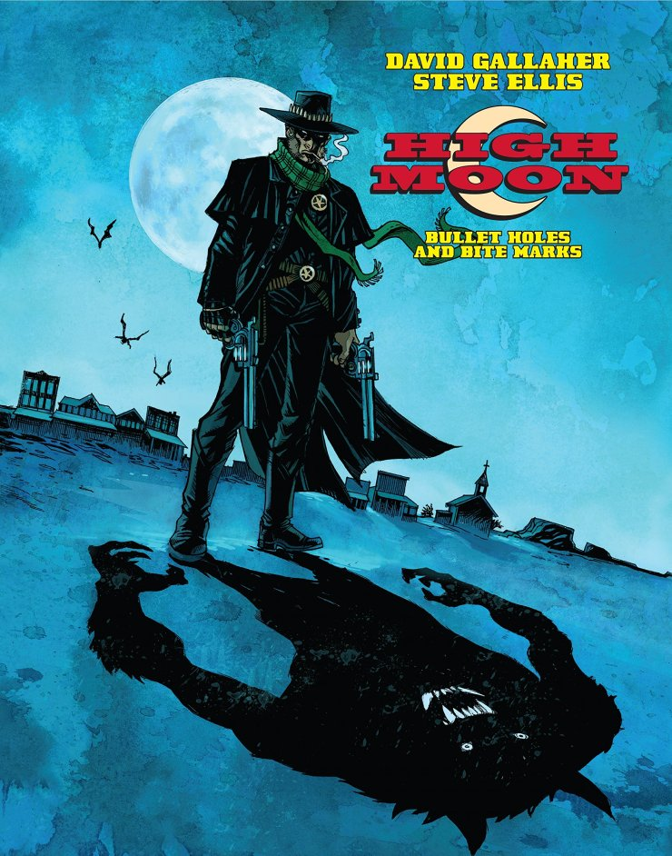 HighMoonV1SlipCase - Exclusive: Preview Pages From the Werewolf Western Comic High Moon