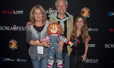 Karen Martin Tom Holland Rachel Belofsky - Video and Photos: Child's Play Q&A with Filmmaker Tom Holland at Screamfest
