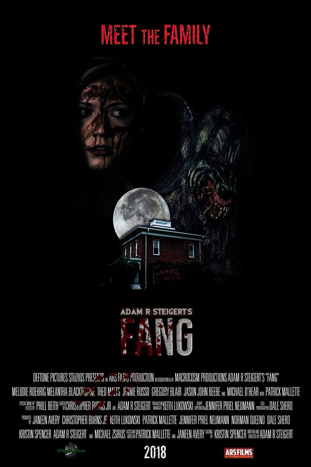 fangposter - Exclusive: Fang Teaser Trailer Starts Bloody and With Dinner