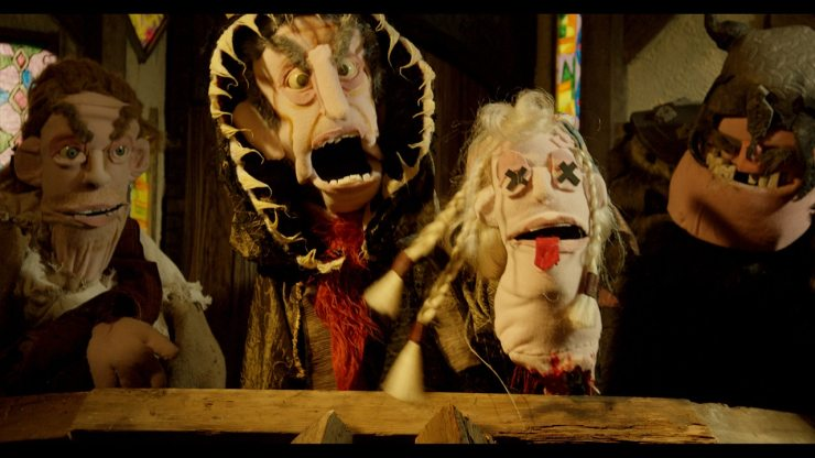 frankandzed 4 - Exclusive: Check Out the All-Puppet Horror Movie Frank & Zed With These Spooky Stills