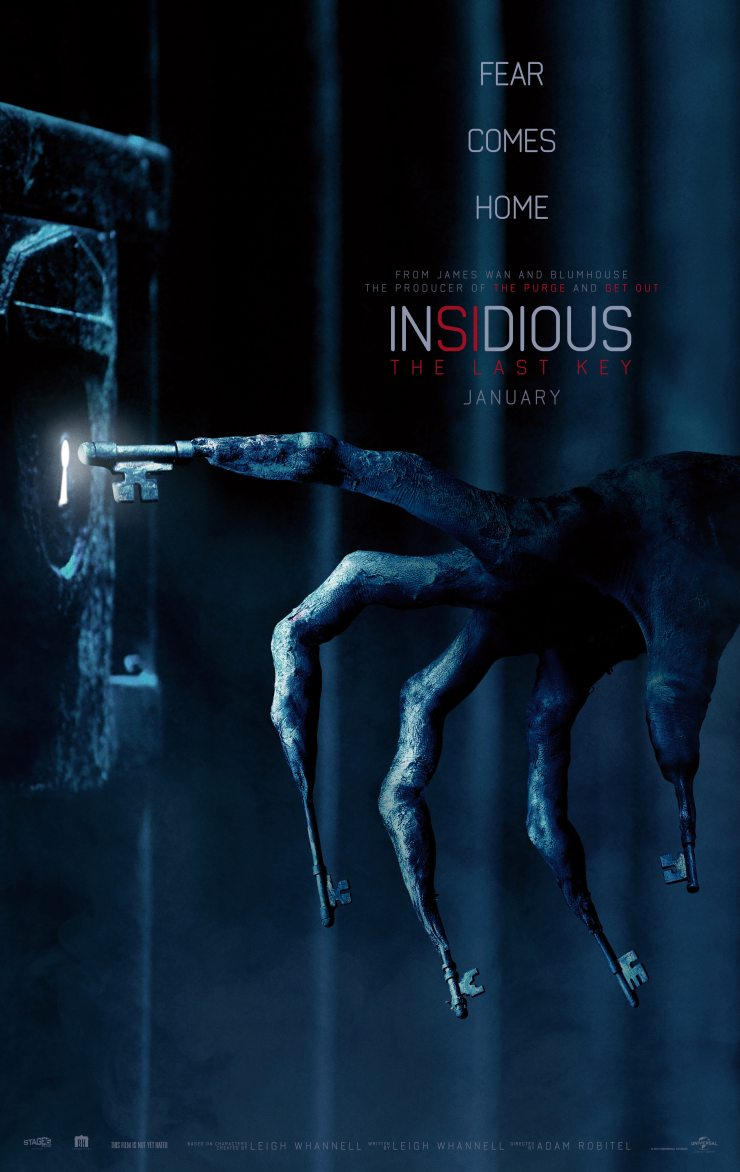 insidiouslastkeyposter2 - New Insidious: The Last Key Trailer Speaks Softly But Carries a Big Whistle