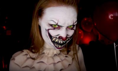 madeyewlookpennywise - Makeup Artist Turns Into Pennywise: Do it Yourself With Her Tutorial