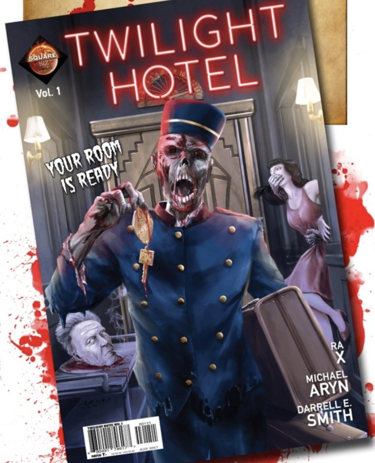 twlighthotel - Twilight Hotel Comic Aims to Delight Fans of The Twilight Zone and Tales From the Crypt