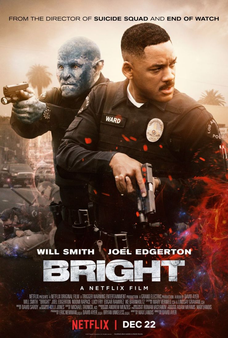Bright - Check Out this Bright New Trailer from Netflix