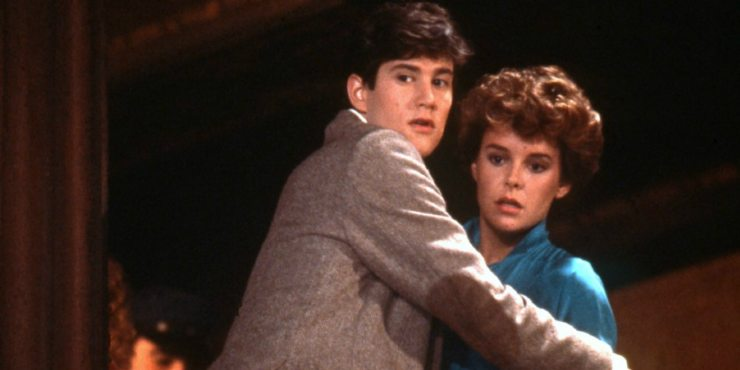 Fright Night 1985 Charley and Amy - Fearsome Facts: 8 Things You Didn't Know About Fright Night (1985)