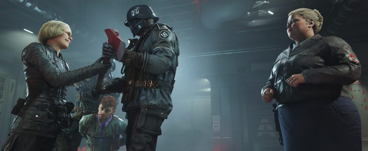 ROW Wolfenstein II Handle With Care 1496826971 - Wolfenstein II: The New Colossus Video Game Review - Doesn't Evolve Mechanically Enough to be Really Memorable
