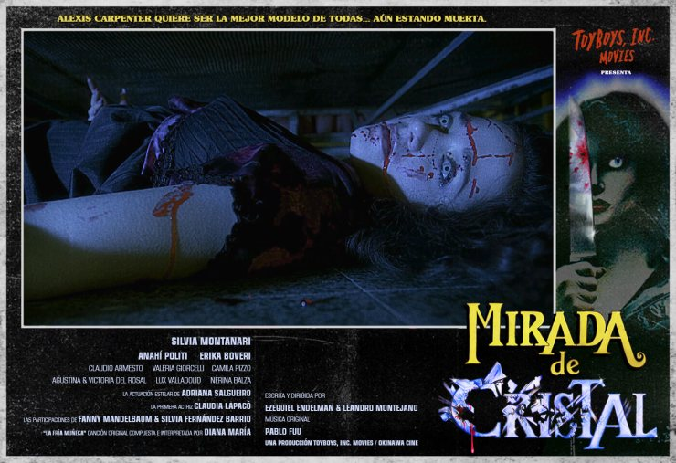 Crystal Eyes 1 - Giallo Makes A Comeback With Crystal Eyes