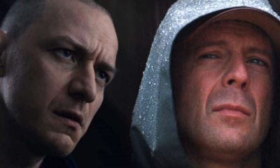 Glass - Filming Wraps on M. Night Shyamalan's Glass With James McAvoy and Bruce Willis