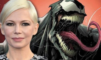Venom Michelle Williams Marvel Sony - Michelle Williams Joined Marvel's Venom for the Chance to Work with Tom Hardy